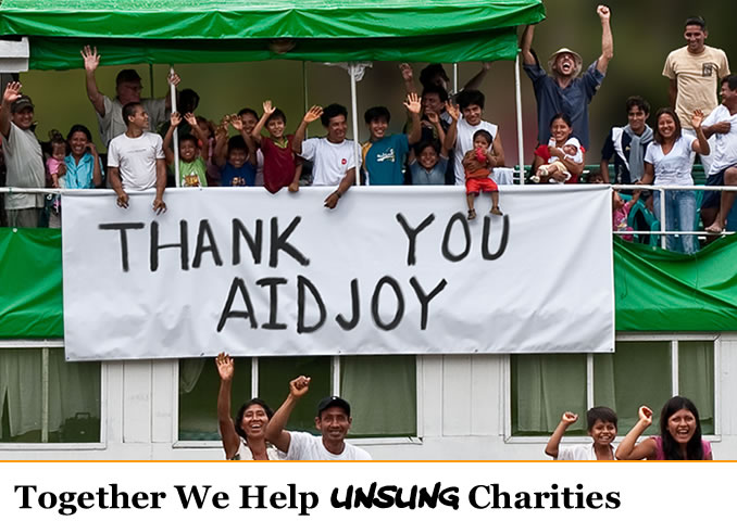 AidJoy helps philanthropic heroes solve dire problems ranging from human rights to environmental devastation.