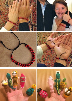 Huayruro Seed Bracelets